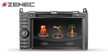 Zenec Z-E4626: Reisemobilnavi für Mercedes Viano, Vito, Sprinter II