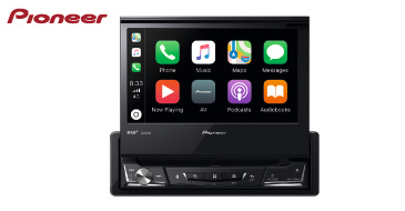 PIONEER AVH-Z7200DAB: 1-DIN Multimediasystem mit DAB+, Apple CarPlay & Android Auto