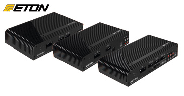 ETON POWER 150.6, POWER 220.4, POWER 450.2 - Digital-Endstufen
