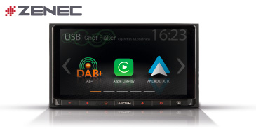 ZENEC Z-N528: 2-DIN Infotainer mit Apple CarPlay und Google Android Auto