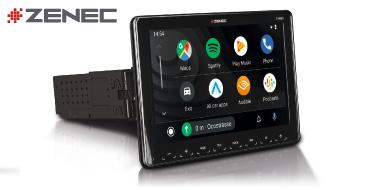 ZENEC Z-N965: Imagebild 1-Din Autoradio mit CarPlay und Android Auto