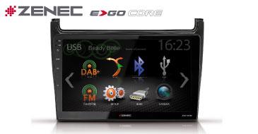 ZENEC E>GO Core Z-F2001 für VW Polo 6R