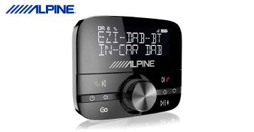 ALPINE EZi-DAB-BT: DAB+ Erweiterung für alle Fahrzeuge
