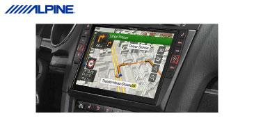 ALPINE X901D-G6: 2-DIN Navi für den VW Golf VI