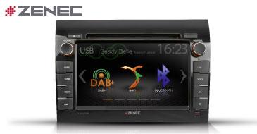 ZENEC E>GO Z-E3756: Fahrzeugspezifische Multimedia-Navi für FIAT Ducato, Citroën Jumper, Peugeot Boxer